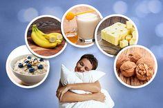 Besser einschlafen mit diesen 5 Lebensmitteln