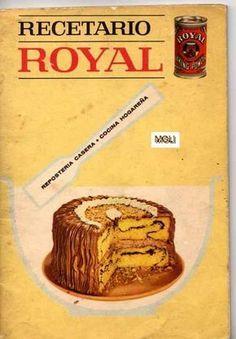 Title Slide of Recetario Royal My Recipes, Sweet Recipes, Cake Recipes, Cooking Recipes, Favorite Recipes, Köstliche Desserts, Delicious Desserts, Yummy Food, Pan Dulce