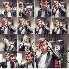 """Alex Turner starring in """"Silly Faces""""."""