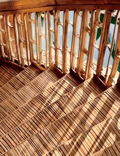 Check out the travel community started by Airbnb, which connects people to gorgeous and unexpected destinations Discover the work of SHoP architects, the New York firm that reinvents urban spaces for realitiesMeet Anne Pasternak, the leader o Bamboo Art, Bamboo Crafts, Bamboo Shop, Bamboo Building, Natural Building, Bamboo Architecture, Architecture Details, Bamboo House Design, Bamboo Structure