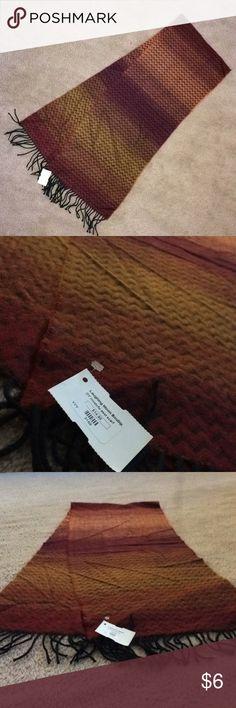 NWT Maroon Scarf Super soft acrylic maroon scarf NWT Accessories Scarves & Wraps