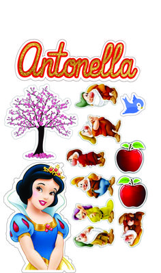 Baby Snow White, Snow White Cake, Snow White Seven Dwarfs, Snow White Birthday, Princesas Disney, Princess Party, Cake Toppers, Decoupage, Cake Decorating