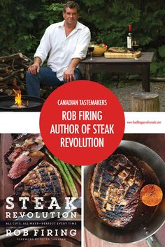 Meet Rob Firing, Canada's first cookbook agent and author of two cookbooks of his own, the latest being Steak Revolution. Backpacking Canada, Canada Travel, Padi Diving, Scuba Diving, Canada Holiday, Diving Course, Canadian Food, Visit Canada, Kitchens
