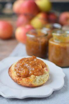 Herbst Bratapfel Marmelade mit Mandeln (4)