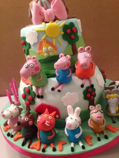 Peppa Pig and All her friends!