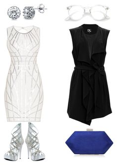 """""""Zeb"""" by jaeewill on Polyvore featuring Ellie, Hervé Léger, SUGAR LIPS, Miss KG and BERRICLE"""