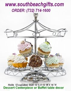 Carousel Cupcake table Centerpieces for Carousel horse theme Amusement park, Merry Go Round, carnival or Circus theme  Birthday parties, or Vintage Antique Party decorations, we have more items in the Carousel Theme.... just ask us 732-714-1600