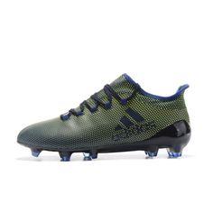 cheap for discount d35e3 f49b0 Barato Adidas X 17.1 Tpu Azul Verde Botas De Futbol
