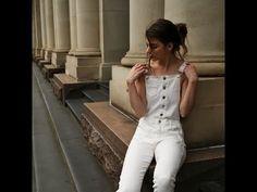 Trazo posterior del pantalon femenino - YouTube