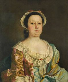 Portrait of a Lady of the Fanshawe Family, c. 1745 by circle of Joseph Highmore