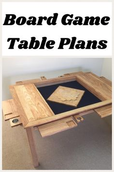This download has everything you need to build your own Board Game Vault Table. With everything from materials and tools lists, to step by step instructions with detailed drawings on creating every piece of your table, this 40+ page document provides you with everything you need!   #woodworkingprojects #gamenight #affiliatelink Board Game Table, Table Games, Board Games, Game Night Parties, Detailed Drawings, Table Plans, Build Your Own, Vaulting, Dessert Table