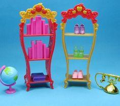 Encontrar Más Accesorios de Muñecas Información acerca de 2 unids/lote muebles de la muñeca niños Playhouse zapatos de Rack para Barbie Dollhouse bastidores de almacenamiento para muñecas Monster High, alta calidad parrilla cromada, China cnc de rack Proveedores, barato estante de almacén de Your Princess Your Doll en Aliexpress.com