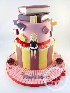 Matilda book cake