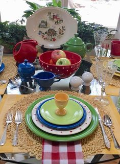 February 1, 2018 Shamrock, lapis, sunflower, chartreuse and scarlet fiesta