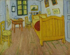 Vincent van Gogh - De slaapkamer - Google Art Project - Bedroom in Arles - Wikipedia, the free encyclopedia