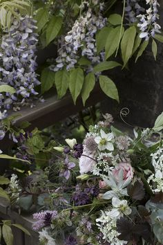 AESME   Flowers & Fine Art - weddings & events   Summer Wedding Bridal Bouquet