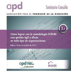Cómo lograr con la metodología SCRUM una gestión ágil y eficaz en todo tipo de organizaciones.  Bajo este título organizamos nuestro próximo seminario junto a Acorde Consulting  Te esperamos el 24 de noviembre en Bilbao.