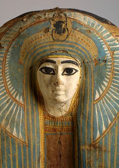 Sarcophagus of a queen, Dyn. 18,Egypt, New Kingdom,  Dating:1570 BC–1293 BC Origin:Egypt, Upper Egypt, Thebes