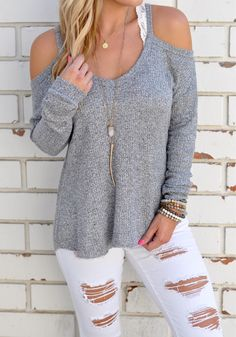 Cheap women t-shirt, Buy Quality cotton blend directly from China women t-shirt long sleeve Suppliers: New 2017 Sexy Casual Cotton Blend V Neck Vest Tops Autumn Winter Women T-shirt Long Sleeve Strapless T-shirt Hollow Out Tops T-shirt Crop, Fall Outfits, Cute Outfits, Off Shoulder T Shirt, Cold Shoulder, Xl Shirt, Sexy, T Shirts For Women, Clothes For Women
