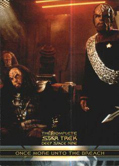 2003 Complete Star Trek Deep Space Nine 167 Once More Unto The Breach   eBay