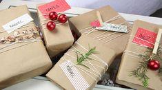 Veja como fazer embalagens de presentes fofas e baratas usando apenas papel de embrulho, barbante e materiais que você já tem em casa.
