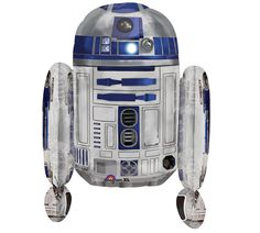 """STAR WARS R2D2 26"""" Mylar Super Shape BALLOON The Force Awakens Birthday Party decorations supplies centerpiece by KidzPartyShoppe on Etsy https://www.etsy.com/listing/286438343/star-wars-r2d2-26-mylar-super-shape"""