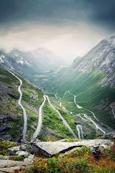 The Trollstigen -Norway's most famous road to the Isterdal. An impressive accomplishment of civil engineering. | Flickr sharing