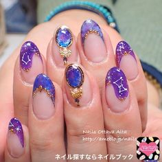 What Christmas manicure to choose for a festive mood - My Nails Cute Nails, Pretty Nails, Witch Nails, Gel Nails, Nail Polish, Nagellack Design, Kawaii Nails, My Sun And Stars, Dream Nails