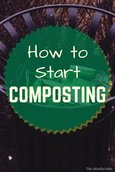 How to Start Composting in an Apartment   Composting, Apartments ...
