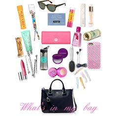 """""""What's in my bag"""" by preppyperalgal on Polyvore"""