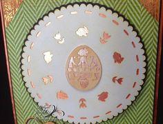 Easter Egg Doily Card/Blessings