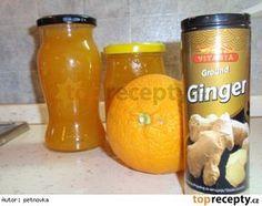 Dýňová marmeláda s citrusy Marmelade Recipe, Home Canning, Smoothie, Food And Drink, Cheese, Homemade, Fruit, Drinks, Sweet