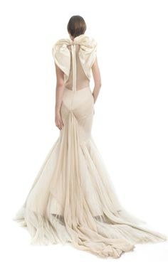 Angel Evening Gown by Zac Posen for Preorder on Moda Operandi