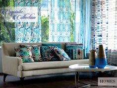 The perfect collection to brighten up your home this summer. Explore more @ www.homesfurnishings.com #HomesFurnishings #Cushions #HomeDecor #HomeFabrics #Furnishings #Curtains #DigitalPrints