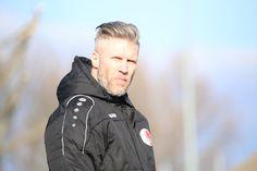 U19 Trainer Guido Spork   18. Spieltag Germania Halberstadt vs. BAK 07(Saison 14/15) - Ergebnis: 3:0 Auswärtssieg