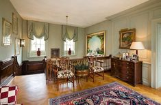 The character-filled home, which dates from 1730 and stands in around half an acre, is arr...