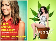 similarities between were the millers and weeds