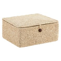 Charmant For Storing Everything From Clothing Accessories In The Closet To Reading  Materials In The Family Room, Our Crochet Box Is An Attractive Solution.