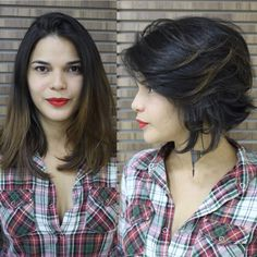 #cabelo #Cabelocurto #cabeloscurtos #cabeloscurtosdivos #shorthair #short #haircut #shorthairdontcare #pixie #bob #chanel #messy #messyhair #messybob #loira #blond #blonde #platinado #cabelomedio #cabelosmedios #mediumhair #mediumbob #longbob