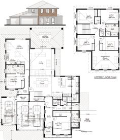 Discover our entire range of Dual Occupancy House Plans designed for the Perth metro area . We offer Double Storey and house behind house special purpose duplex style designs. Family House Plans, New House Plans, Dream House Plans, House Floor Plans, House With Granny Flat, 10 Marla House Plan, House Plans Australia, House Construction Plan, Model House Plan