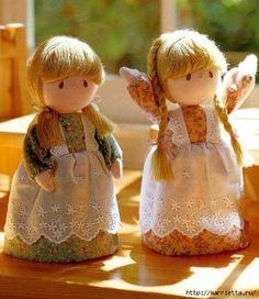 tantissime bambole in tessuto : tutorial e cartamodelli