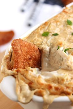 Crab Rangoon Dip  with Five Spice Chips   The Suburban Soapbox