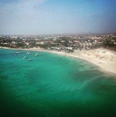 Recién llegados a Aruba, toca salir de recorrida en un rato #ArubaBT