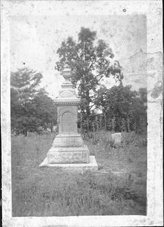 Frances Slocum Monument.  Slocum Cemetery, Wabash County, Indiana.  **See Find A Grave at this cemetery for her story of being captured as a young girl by the Delaware Indians.