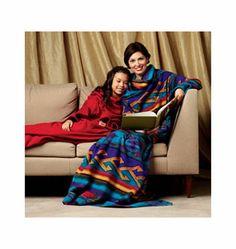 Snuggie K3711 | Blanket with Sleeves | $3.99 Clearance Sale | Kwik Sew Patterns