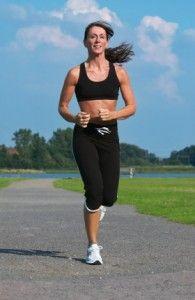 stock photo   Woman running 3a764d1c184