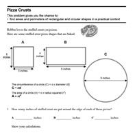 Math lesson resources K- geometry from Inside Mathematics using  national common core standards