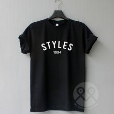 100dad1b1 Styles 1994, Harry Styles Shirt, Hipster Tee Tops, 1D Tshirt, Tumblr.