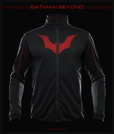 Batman Beyond Jacket by seventhirtytwo.deviantart.com on @deviantART