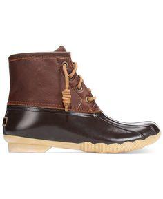 Sperry Women's Saltwater Duck Booties | Cas, Duck boots and ...
